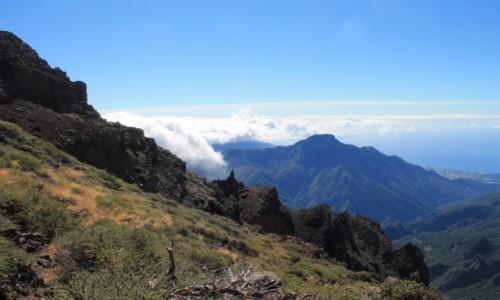 Zdjecie HISZPANIA / La Palma / la Caldeira de Taburiente / La Palma