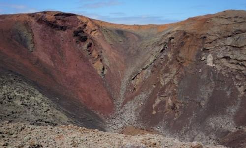 Zdjęcie HISZPANIA / Lanzarote / Park Narodowy Timanfaya / mar de lava...