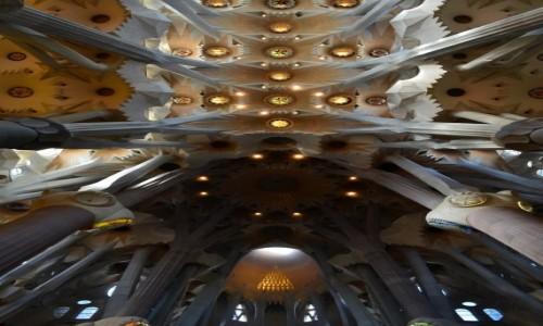 Zdjecie HISZPANIA / Katalonia / Barcelona / Symetrycznie