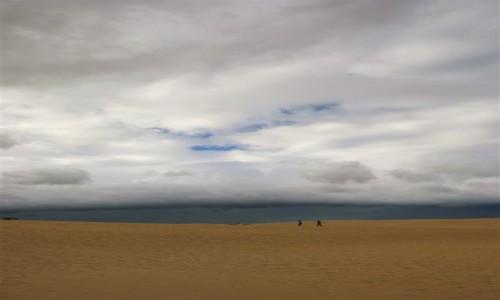 Zdjecie HISZPANIA / Fuerteventura / Corralejo / między niebem a