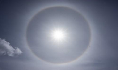 Zdjęcie HISZPANIA / Teneryfa / Teide / efekt halo