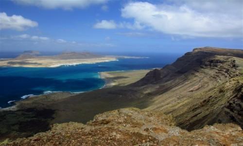HISZPANIA / Lanzarote / okolice Salinas del Rio / wyspy szczęśliwe