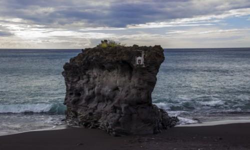 Zdjęcie HISZPANIA / La Palma / Puerto Naos / plaża w Puerto Naos