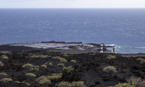 Zdjęcie HISZPANIA / Wyspy Kanaryjskie / La Palma / Salinas de Fuencaliente