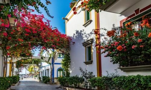 Zdjecie HISZPANIA / Gran Canaria / Puerto de Mogan / Romantyczne Puerto de Mogan