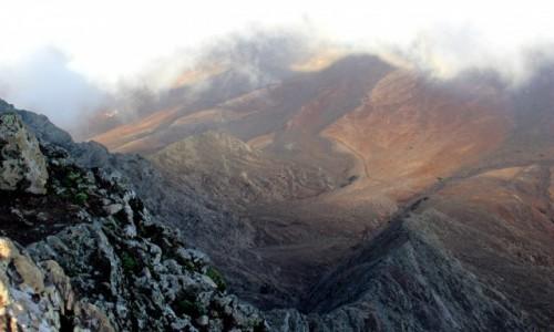 Zdjęcie HISZPANIA / Wyspy Kanaryjskie / Fuerteventura / Widok z Pico de la Zarza na Cofete
