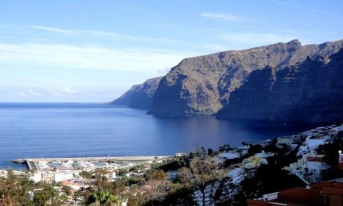 Zdjęcie HISZPANIA / Wyspy Kanaryjskie / Teneryfa / Los  Gigantes.
