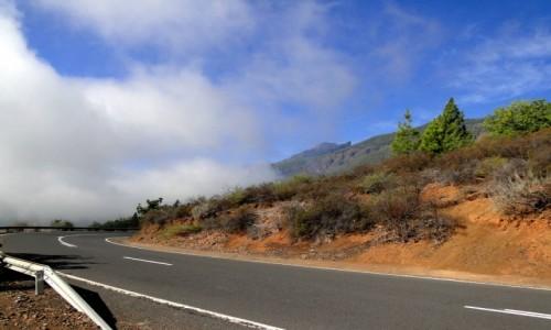 HISZPANIA / Wyspy Kanaryjskie, Teneryfa / gdzieś w drodze... / Teneryfa - droga w góry Anaga.