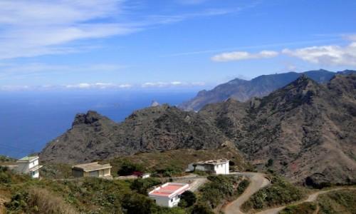 HISZPANIA / Wyspy Kanaryjskie, Teneryfa / Taborno. / W górach Anaga