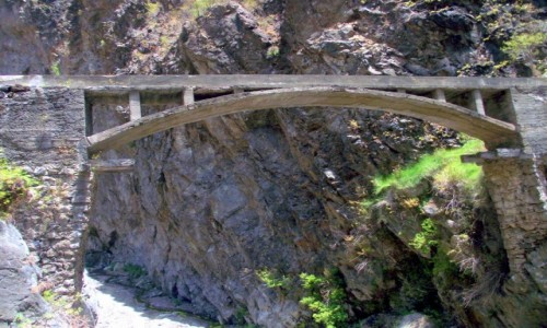 HISZPANIA / Wyspy Kanaryjskie / La Palma, Park Narodowy Caldera de Taburiente / Barranco de Las Angustias
