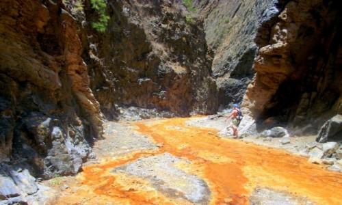 Zdjęcie HISZPANIA / Wyspy Kanaryjskie / La Palma / Canion