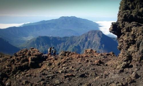 Zdjęcie HISZPANIA / Wyspy Kanaryjskie / La Palma, Park Narodowy Caldera de Taburiente / Na dachu La Palmy