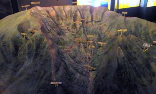 Zdjecie HISZPANIA / Wyspy Kanaryjskie / La Palma, Park Narodowy Caldera de Taburiente / makieta Caldery de Taburiente