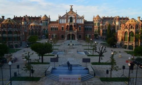 Zdjecie HISZPANIA / Katalonia / Barcelona / Szpital