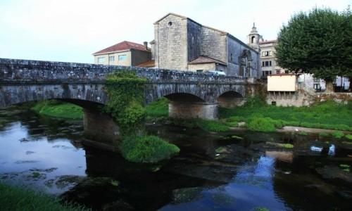 Zdjęcie HISZPANIA / A Coruña / De Padron / Stary most