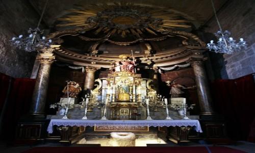 Zdjęcie HISZPANIA / A Coruña / De Padron / Kościół Santiago de Padron, ołtarz