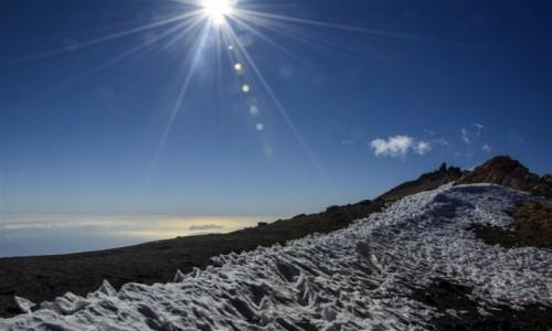 Zdjecie HISZPANIA / Teneryfa / Pico del Teide / powyżej chmur
