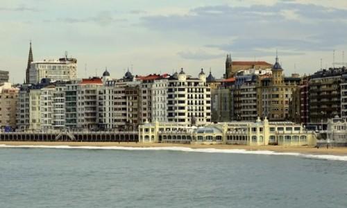 Zdjecie HISZPANIA / Kraj Basków / San Sebastian / La Concha