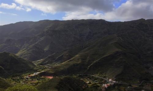 Zdjecie HISZPANIA / La Gomera/Wyspy Kanaryjskie / okolice Hermigua / La Gomera
