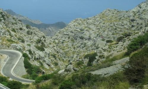 Zdjęcie HISZPANIA / Majorka / Majorka / Z górki na pazurki