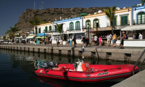 Zdjecie HISZPANIA / Gran Canaria / Puerto de Mogan / Kolorowo