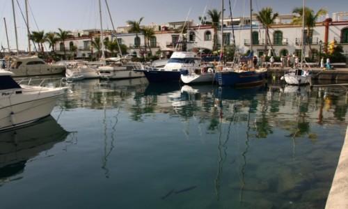 Zdjecie HISZPANIA / Gran Canaria / Puerto de Mogan / Marina