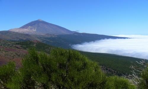 Zdjecie HISZPANIA / Teneryfa / Wulkan El Teide / Tsunami chmur