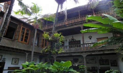 Zdjecie HISZPANIA / Tenerife / La Orotava /La Casa de los Balcones / Rok 1632