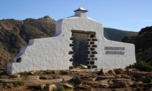Zdjecie HISZPANIA / Betancuria / Fuerteventura / Municipio de Betancuria