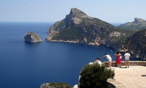 HISZPANIA / Baleary, Majorka / Przylądek Formentor / Z serii: lato na Majorce.