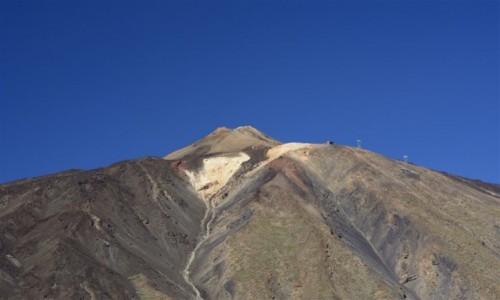 Zdjecie HISZPANIA / Teneryfa / Parque Nacional del Teide / Pico del Teide