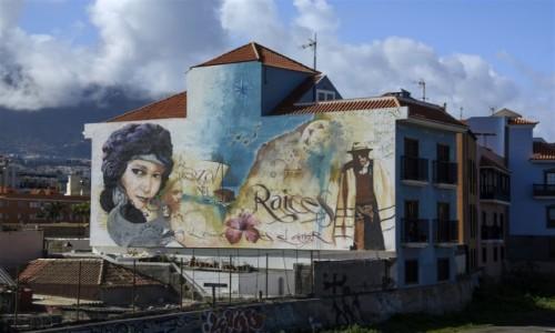 HISZPANIA / Teneryfa / Puerto de la Cruz / street art