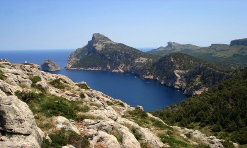 Zdjecie HISZPANIA / Baleary, Majorka / Przylądek Formentor / Z serii: lato na Majorce.