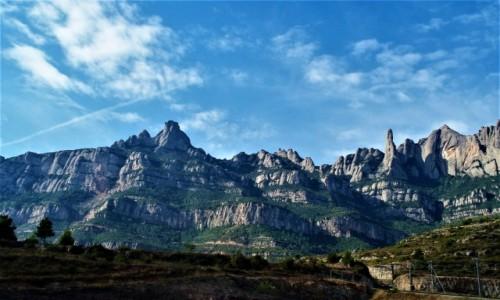 HISZPANIA / Barcelona / Montserrat / Góry Montserrat