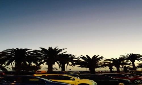 Zdjecie HISZPANIA / Morro Jable / Fuerteventura / Niebo nocą