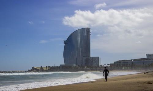 Zdjęcie HISZPANIA / Katalonia / Barcelona / Plaża Barceloneta