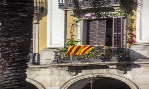 Zdjecie HISZPANIA / Katalonia / Barcelona / dumna Katalonia :)