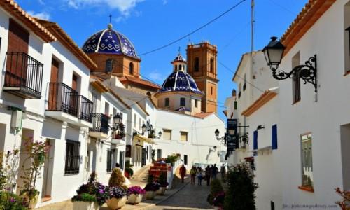 HISZPANIA / Costa Blanca / Altea / Na wzgórzach