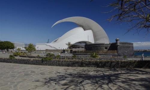 Zdjecie HISZPANIA / Teneryfa / Santa Cruz / Auditorio de Tenerife