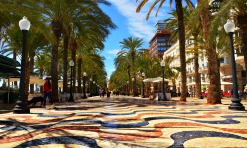 Zdjęcie HISZPANIA / Costa Blanca / Alicante / Wciągająca promenada