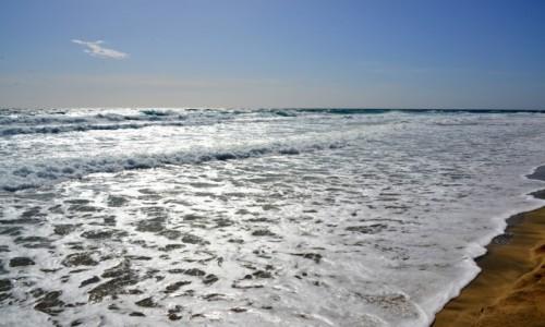 Zdjecie HISZPANIA / Morro Jable / Fuerteventura / Fale oceanu