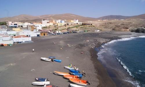 Zdjęcie HISZPANIA / Fuerteventura / Ajuy / Czarna plaża