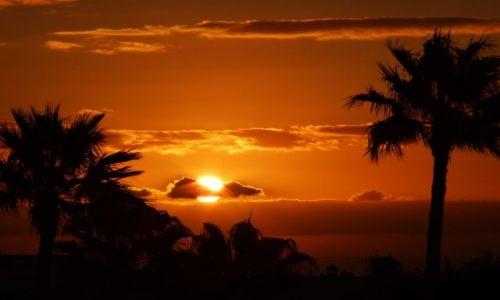 Zdjecie HISZPANIA / Wyspya Kanaryjskie / LAnzarote / Wschód Słońca