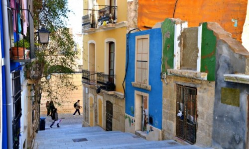 Zdjęcie HISZPANIA / Costa Blanca / Alicante / Kolorowe ruiny