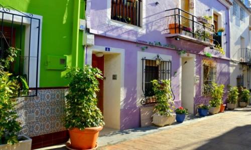 Zdjęcie HISZPANIA / Costa Blanca / Calpe / Uliczki starego miasta