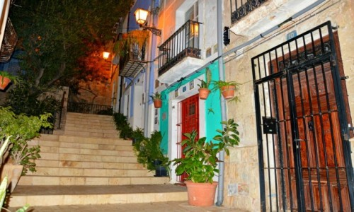 HISZPANIA / Costa Blanca / Alicante / A ja lubię stare miasto nocą...