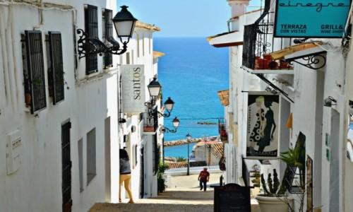 Zdjęcie HISZPANIA / Costa Blanca / Altea / Z widokiem na morze...