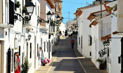 Zdjecie HISZPANIA / Costa Blanca / Altea / Samotny spacer