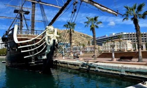 Zdjęcie HISZPANIA / Costa Blanca / Alicante / W porcie