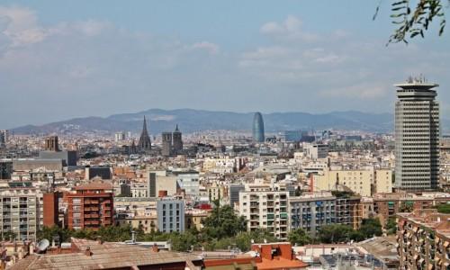 Zdjecie HISZPANIA / Catalonia / Barcelona / Panorama Barcelony